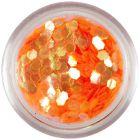 Orange hexagon - aqua elements