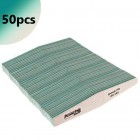 50pcs - Nail file Profi Speedy Diamond  zebra - 180/180, green centre