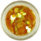 Honey-gold hexagons - aqua elements