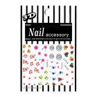 Nail art sticker 3D - Japanese symbols