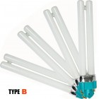 Replacement bulbs for UV lamps ELEGANT, 4pcs
