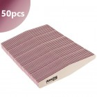 50pcs - Nail file Profi Speedy Diamond white - pink centre 100/100