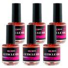 Nail oil, 6pcs - Cuticle Oil PEACH ORANGE 15ml