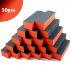 50pcs - Triple-sided orange and black block 100/100