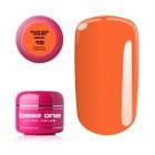 Gel Base One Neon- Medium Orange, 5g