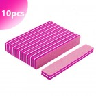 10pcs - Foam nail file 220/280
