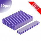 10pcs - Foam nail file 100/150