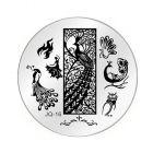 Nail art stamping plate - JQ-16
