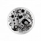 Nail art stamping plate - JQ-52
