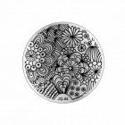 Nail art stamping plate - JQ-44