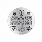 Nail art stamping plate - JQ-28