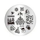 Nail art stamping plate - JQ-08