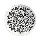 Nail art stamping plate - JQ-67