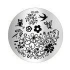 Nail art stamping plate - JQ-06