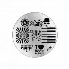Nail art stamping plate - JQ-36