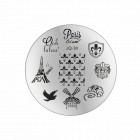 Nail art stamping plate - JQ-38