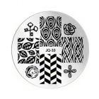 Nail art stamping plate - JQ-33
