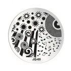 Nail art stamping - JQ-60
