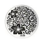 Nail art stamping plate - JQ-59