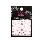 3D nail art stickers – Paris - TJ091S