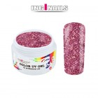 Coloured UV Gel 5g - Pink Glitter