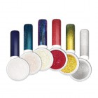 Nail art powder - Kit of coloured chrome nail art powders no.1