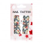 Luxurious water decals - Flowers - A118