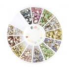 Nail art decorations – stones diamonds - mix