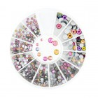 Nail art decorations - stones mix