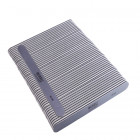 50pcs – Nail file, grey board with black centre, washable and disinfectant friendly 80/80
