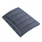 50pcs - Nail file, grey banana design with black centre, washable and disinfectant friendly 100/180