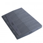 50pcs - Nail file, grey diamond with black centre, washable and disinfectant friendly 100/180