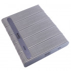 50pcs - Nail file, grey board with black centre, washable and disinfectant friendly 280/280
