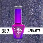 MOLLY LAC UV/LED gel nail polish Wedding Dream and Champagne  - Spumante 387, 10ml