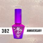 MOLLY LAC UV/LED gel nail polish Wedding Dream and Champagne  - Anniversary 382, 10ml