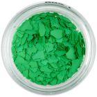 Randomly shaped confetti flakes - green