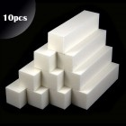 10pcs - 4-sided block, white 180/180