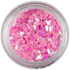Teardrop confetti – light pink