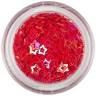 Decorative confettis - red stars