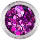 Decorative flower - purple, hologram