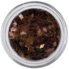 Decorative confetti - diamonds, brown