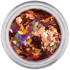 Copper flitters for aqua tips - diamonds, hologram