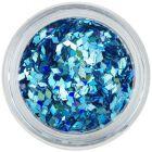 Aqua tip decoration - turquoise, hologram