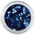 Blue diamond confetti