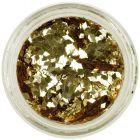 Gold flitters for aqua tips - diamond confetti