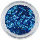 Nail art diamond - turquoise, hologram, 3D
