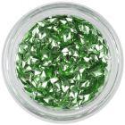 Light green nail art decoration - 3D diamond