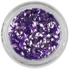 Nail art diamond - light purple, 3D