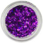 3D diamond - purple, hologram