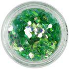 Light green hexagon - aqua elements